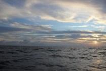 sunset menuju karimunjawa