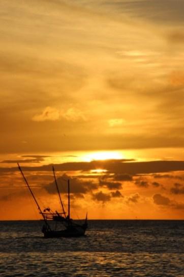 sunset karimunjawa
