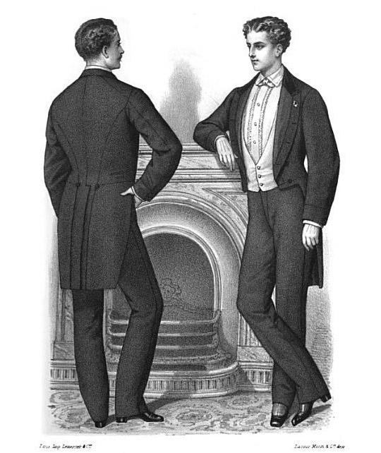Victorian Mens Fashion  ardnasselas