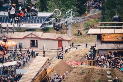 Brett Rheeder Flip Bars off the Cannon