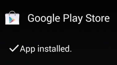 play store installed