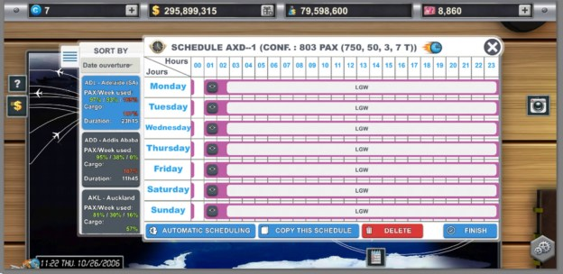 Airlines Manager Tycoon best Routes