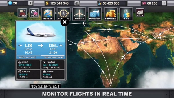 Airlines Manager Tycoon 2018 Mod apk