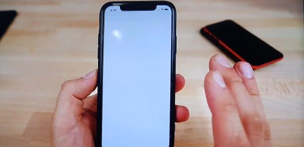 Black Dot of Death message Fix iphone