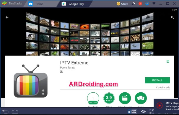 IPTV Extreme For PC Windows 10