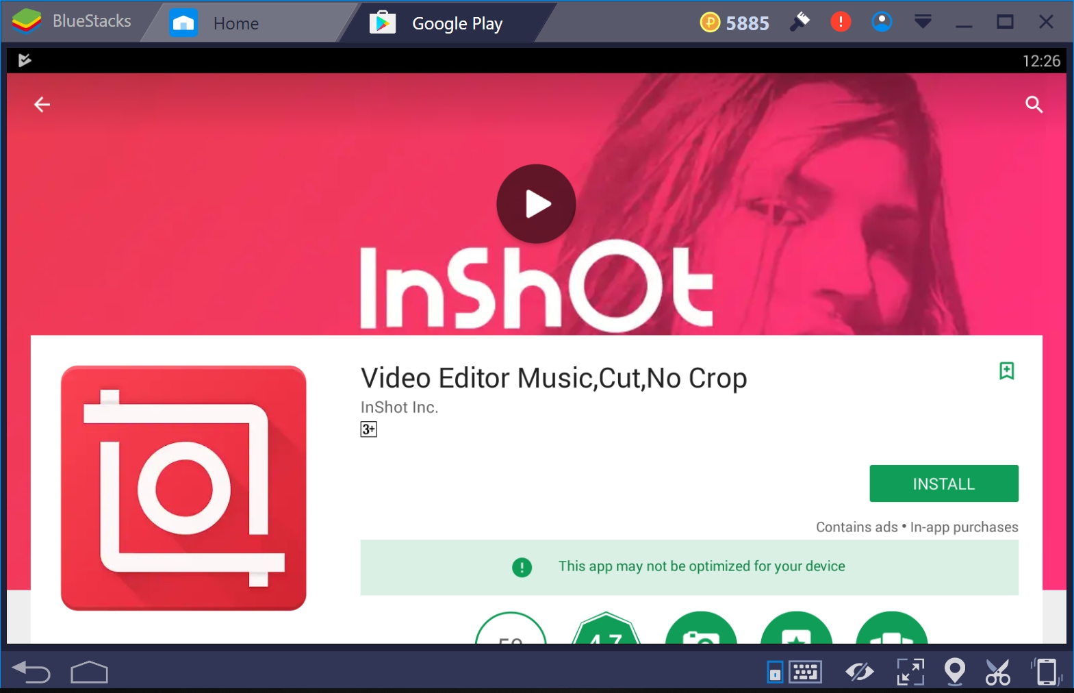 InShot Photo & Video Editor for PC Windows 10/8/7/XP and Mac.