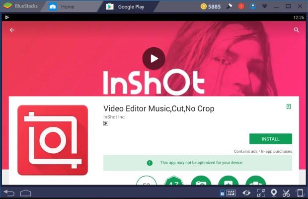 InShot for PC Windows