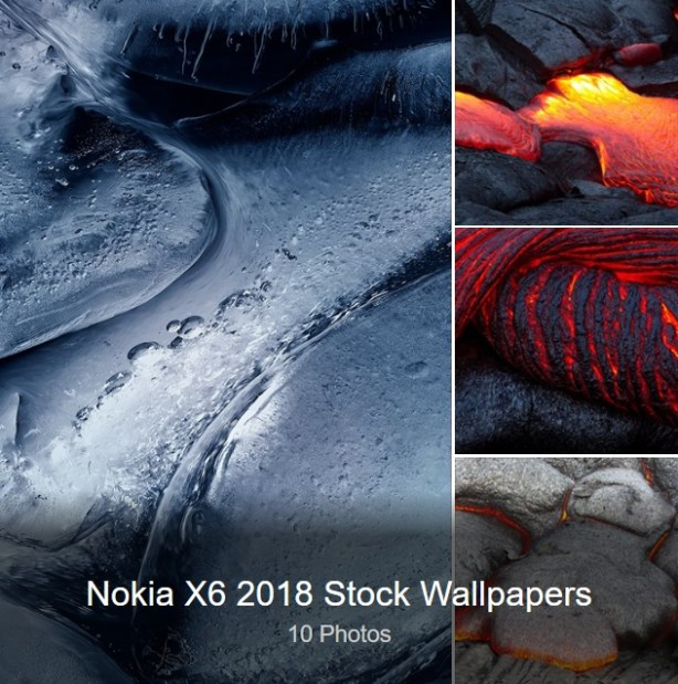 Stock Wallpapers of Nokia X6