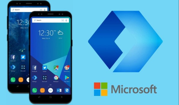 remove microsoft launcher android