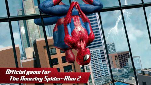 the amazing spider man 2 app