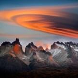 Torres del Paine Horns (Cuernos del Paine) Sunrise