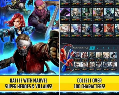 marvel battle lines hacked apk