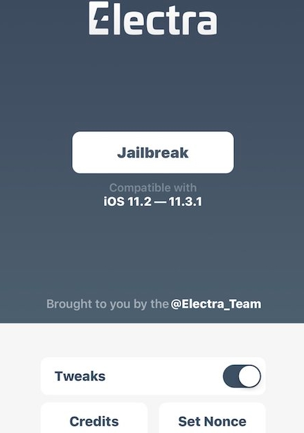 electra jailbreak app