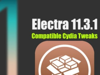 electra jailbreak compatible cydia tweaks and packages