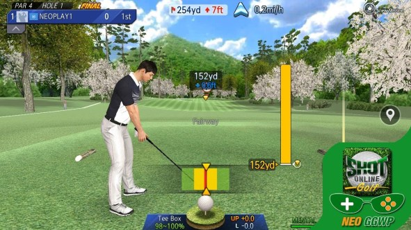 shot online golf for pc