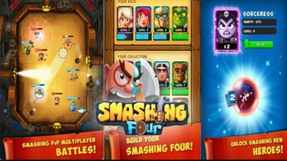 smashing four apk mod