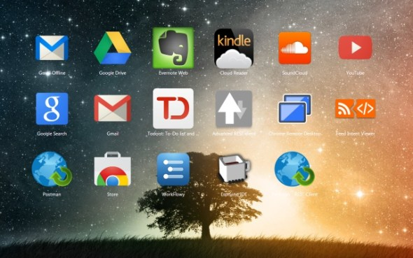 new tab background image on chrome