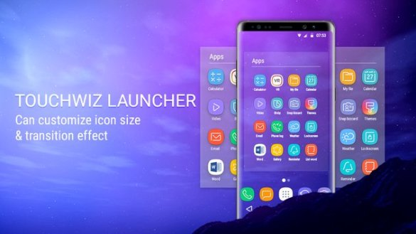 s9 stock launcher app