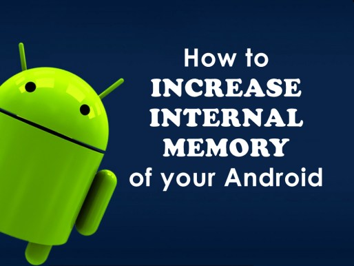 get increased internal memory on android