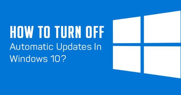 turn off windows 10 auto updates