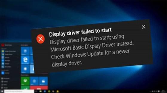 fix graphics display card driver on windows 10