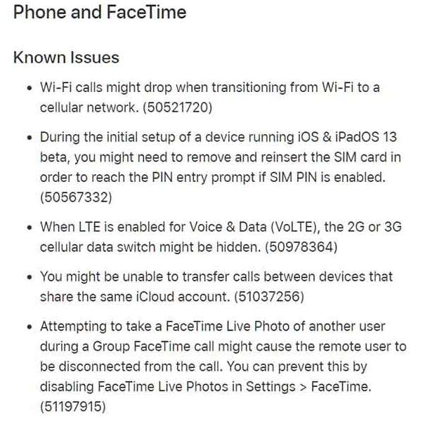 ios 13 beta 2 and ipados 13 beta 2 changelog 28