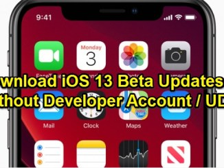 ios 13 beta without developer account