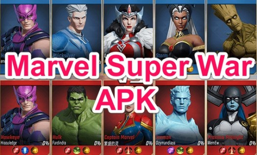 marvel super war apk obb data download links
