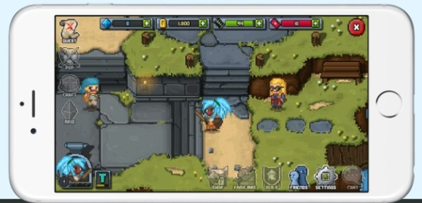 bit heroes mobile game
