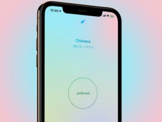 chimera ips for ios 12