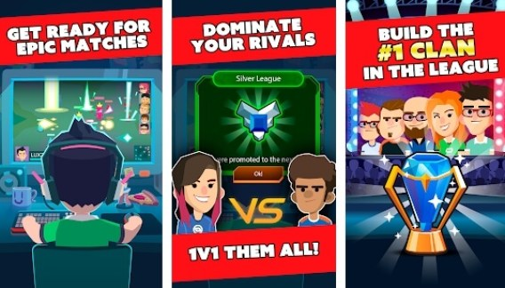 league of gamers apk screenshots