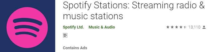 spotify stations pc