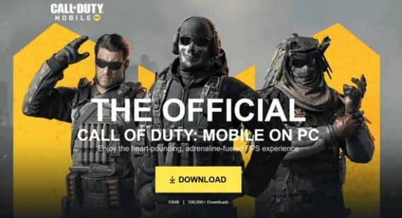 cod mobile pc download 2019