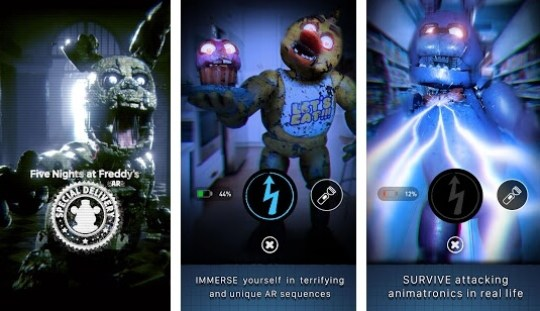 FNAF AR game screenshot
