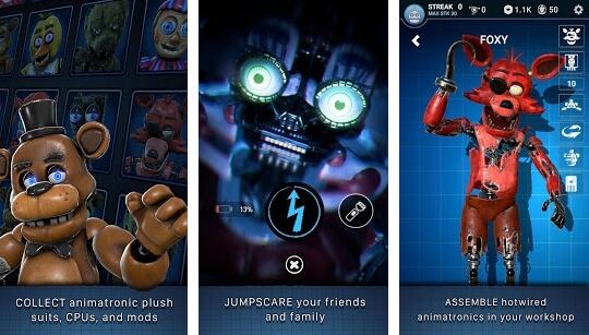 FNAF AR game screenshots