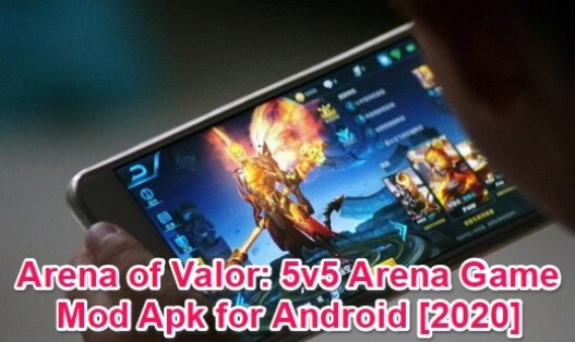 arean of valor mod apk download link for android 2020