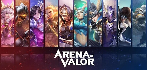 arean of valor modded apk 2020