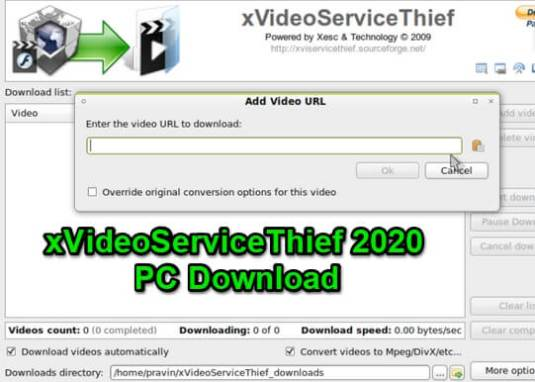 xvideoservicethief pc 2020 download