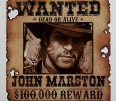 rdr 2 most wanted posters 2020