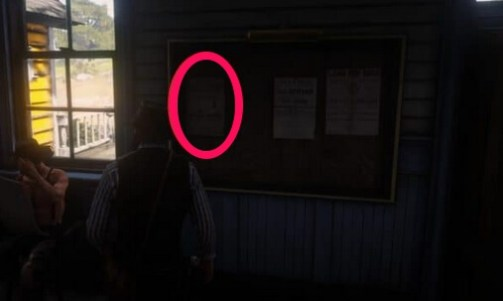 rdr2 wanted poster 1