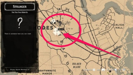 red dead redemption 2 wanted poster quest initiation