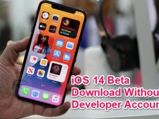 ios 14 beta without developer account