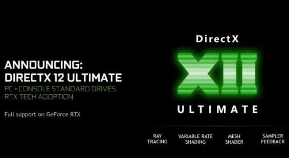rtx gpu driver update for directX 12 ultimate