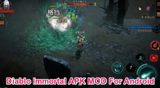 diablo immortal apk mod