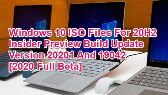 win 10 iso for 20h2-and-2021-update