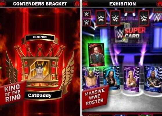 wwe supercard mod screenshots