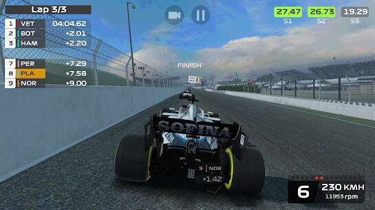 f1 mobile racing images