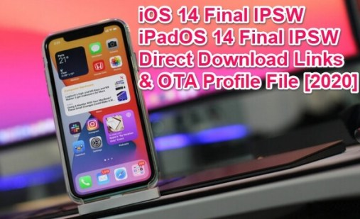 ios 14 final ipsw links
