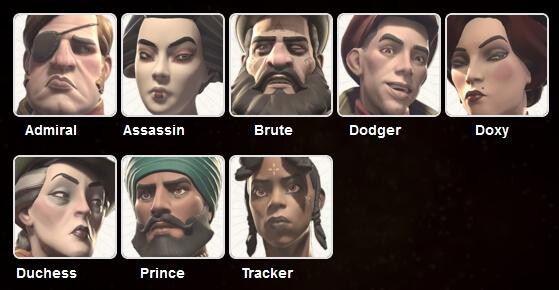 murderous pursuits characters