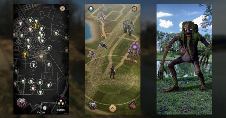 the witcher monster slayer apk screenshots